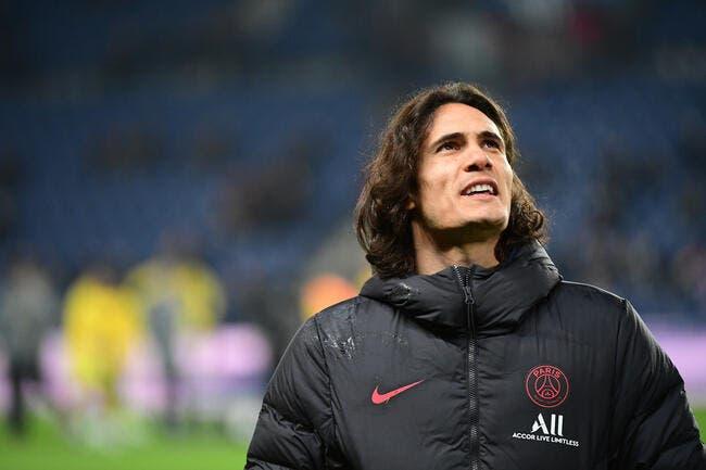 PSG : L'Inter ne fera pas le mouton avec Cavani