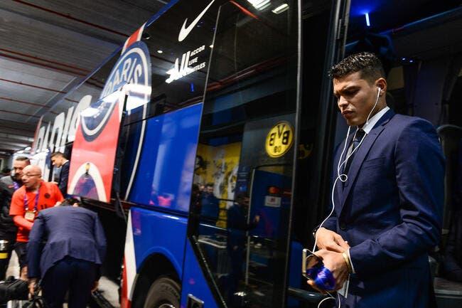 PSG : Thiago Silva travaille sur les divisions, le résultat fait mal