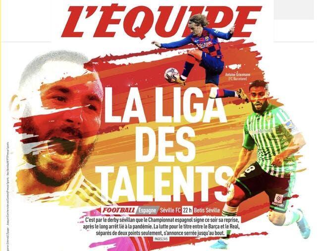 La Liga des talents, L'Equipe humilie la Ligue 1