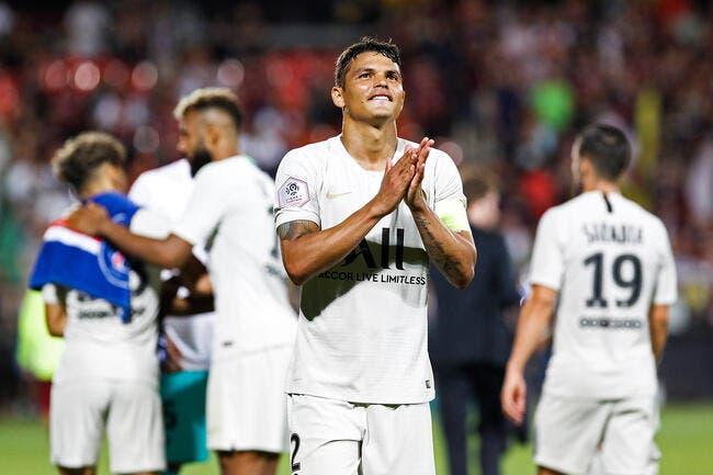 PSG : Thiago Silva remplaçant à 14 ME par an, la belle idée