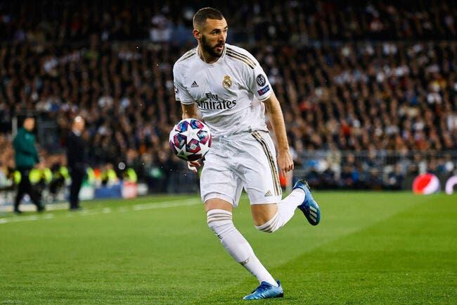 Esp : Karim Benzema a retourné Madrid, pas la France