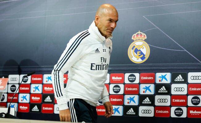 Real: Zidane a tenté une nouveauté, le résultat est catastrophique!