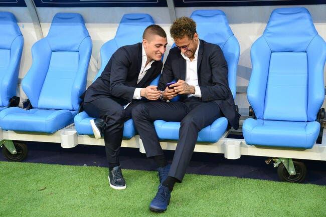 PSG : Alerte, Neymar se prépare physiquement avec Verratti