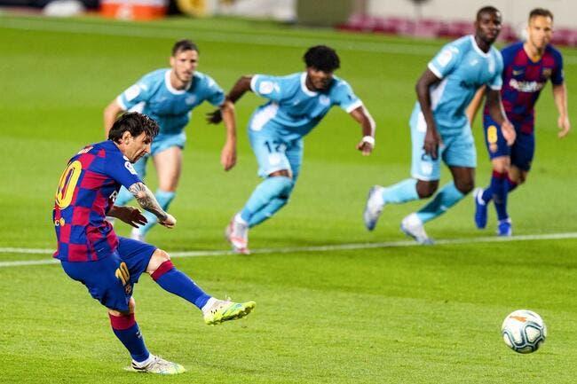Esp: Cristiano Ronaldo moqué, Messi va y mettre un terme