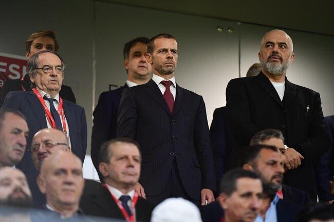 UEFA : La France a « décidé trop tôt », le malaise Ceferin