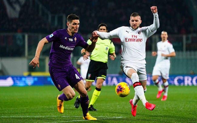 PSG : Milenkovic, la Fiorentina sort un tarif spécial Paris SG