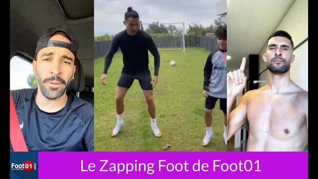 WTF : La combinaison ZIDANE-BENZEMA, Cristiano Ronaldo battu par son fils, Ben Mendy à fond sur JUL