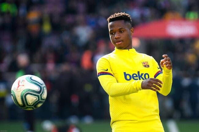 Mercato : 390 ME et le Barça accepte de laisser Ansu Fati à MU