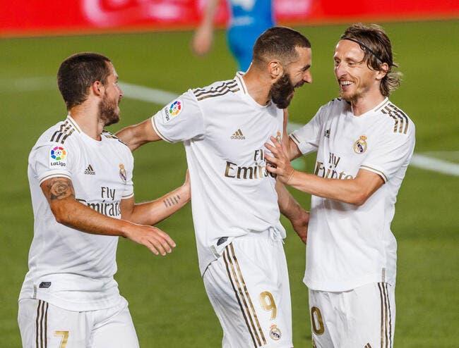 Liga : Benzema score, le Real Madrid est en tête