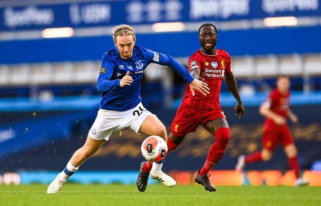 PL : Everton freine Liverpool, le titre repoussé