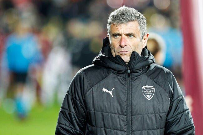 Clap de fin pour l'entraîneur Bernard Blaquart — Nîmes