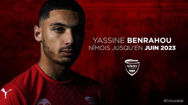Officiel : Benrahou quitte Bordeaux et signe à Nîmes