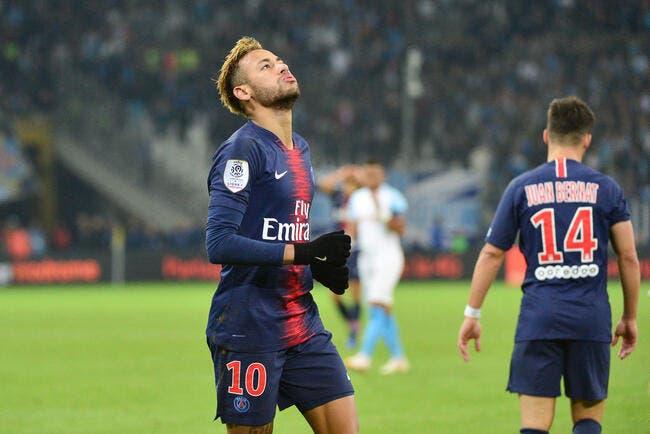 PSG : Accusé d'homophobie, Neymar échappe au pire