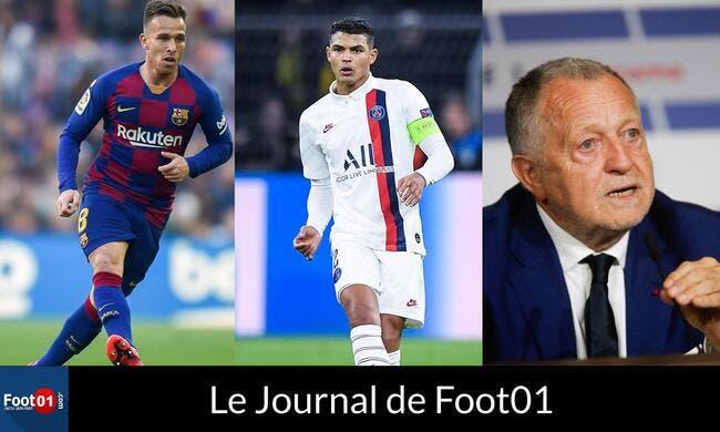 Foot01 News : Le PSG frappe fort avec 4 signatures, AULAS vise le titre pour l'OL