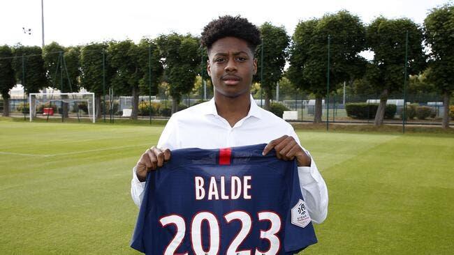 Officiel : Ahamada et Baldé signent pro au PSG