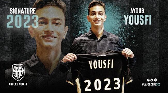 Officiel : Ayoub Yousfi quitte le PSG et signe à Angers
