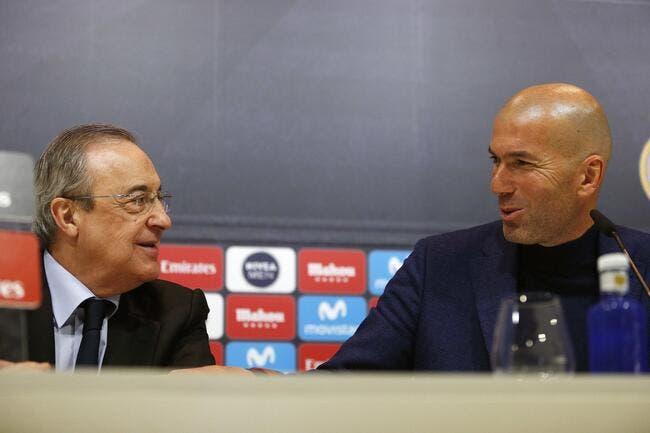 Esp : Zidane ne sautera pas, le Real Madrid soutient Zizou