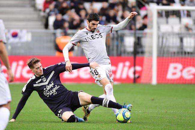 L1 : 1-1, Nice et Bordeaux se quittent bons amis