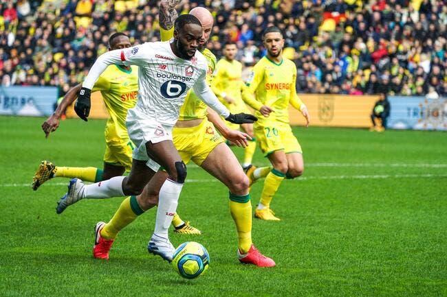 L1 : Lille bat Nantes et s'accroche au podium