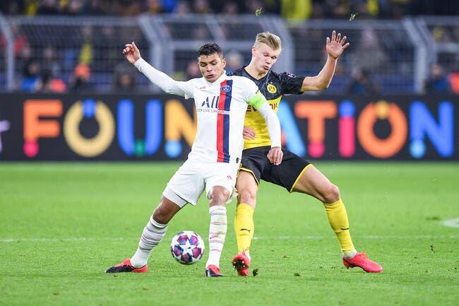 PSG : Un retour possible contre Dortmund, Thiago Silva en mode remontada