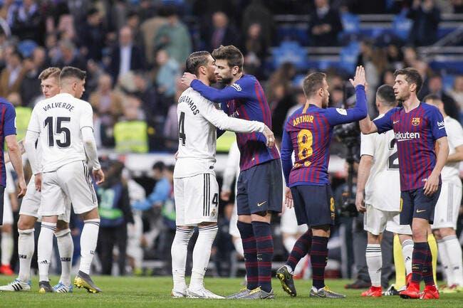 Esp : Piqué et Ramos se giflent à coups de petites phrases