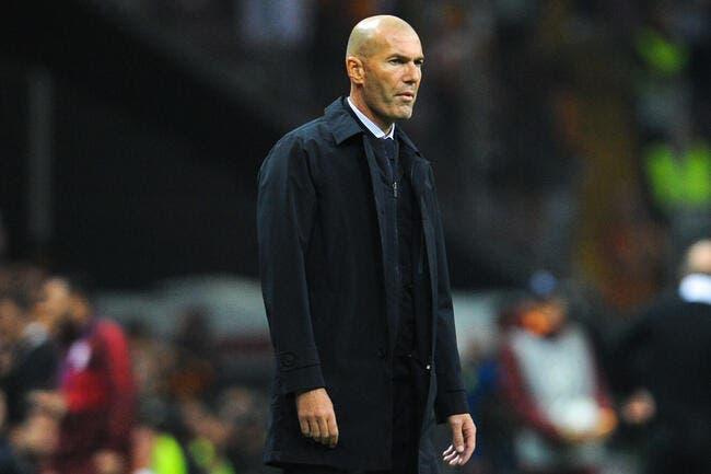 Esp: Zidane n'a pas sauvé sa tête, le Real contacte son successeur