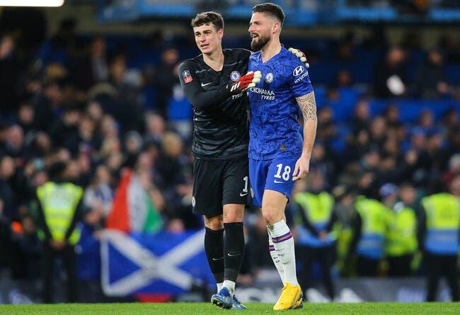 PL : Un but, et Giroud demande une prolongation à Chelsea