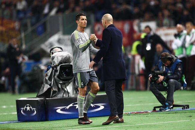Juve: Zidane et Cristiano Ronaldo réunis, le rêve se réalise