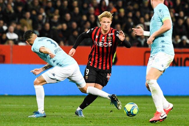 L1 : Dolberg adopté, il crucifie Monaco dans le derby