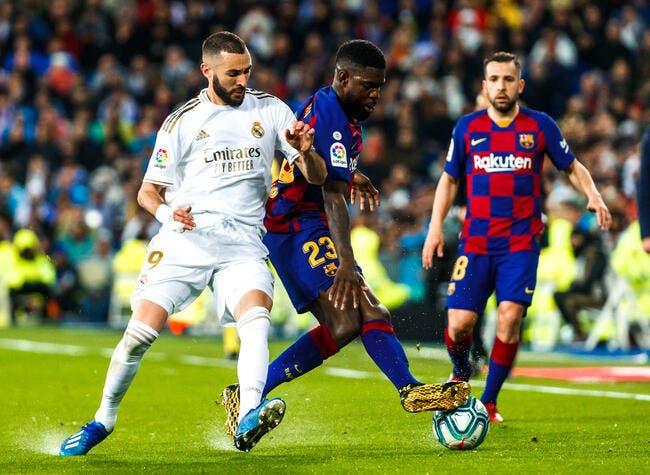 Esp : Benzema condamné à l'exploit pour faire pleurer Messi