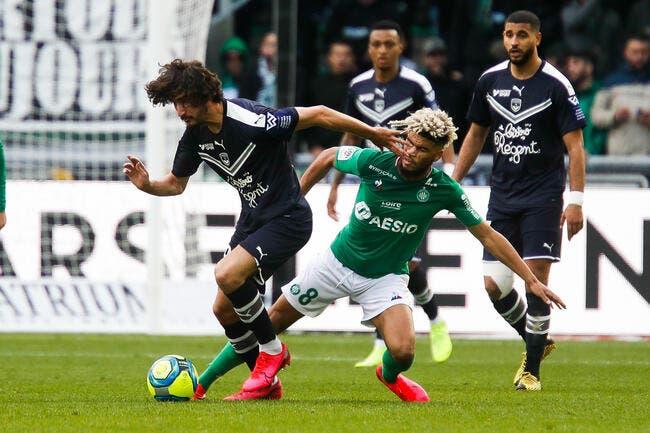 L1 : L'ASSE se contente du match nul contre Bordeaux