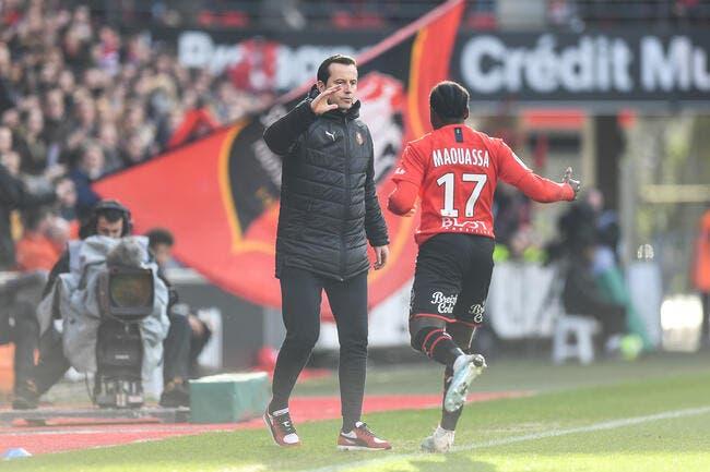 SRFC : Rennes solide sur le podium, Stéphan affiche ses ambitions