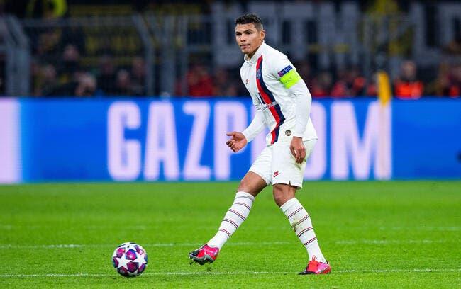 PSG : Thiago Silva forfait, Mbappé présent contre Dortmund !