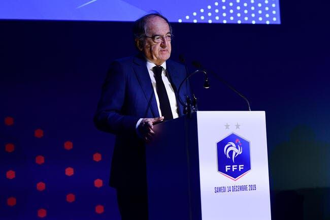 FFF : Noël Le Graët suspend tout le football français !