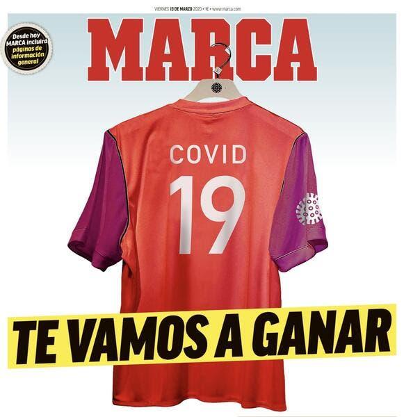 Coronavirus : «Covid 19, on va te battre», le match a commencé