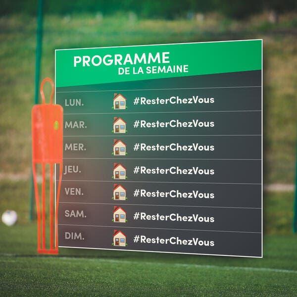 Confinement : La Ligue 1 active le plan #RestezChezVous