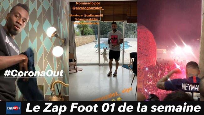WTF : Neymar et Mbappé solidaires face au Coronavirus, Jessica Aidi saoulée par Verratti