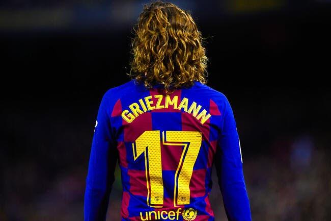 Un prix fixé en cas de départ de Griezmann — FC Barcelone