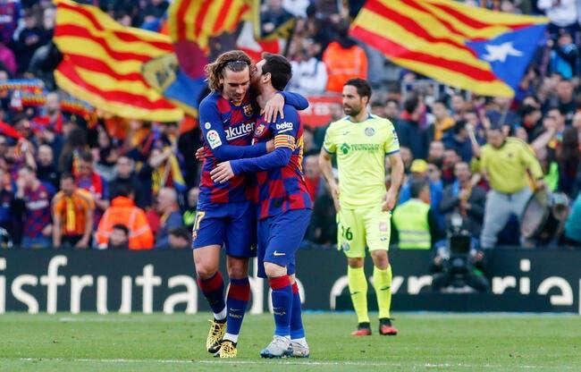 Barça: Griezmann déprime, son mentor engueule Messi