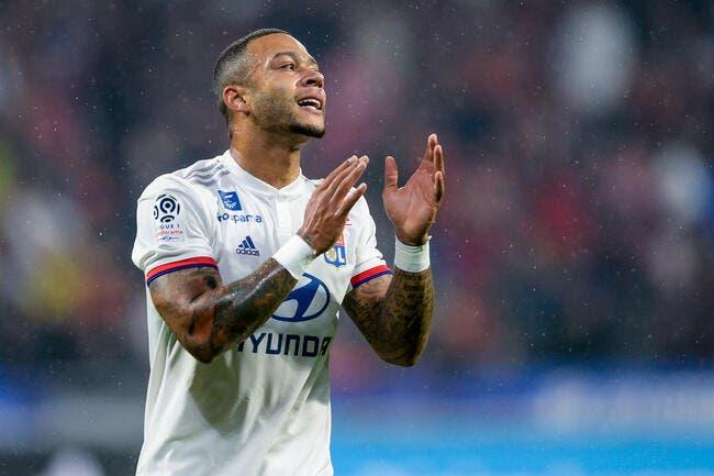 OL : La Lazio fera une offre indécente à Lyon pour Memphis