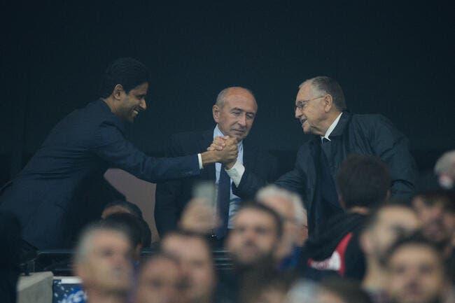 OL-PSG : Face à l'UEFA, Al-Khelaïfi et Aulas sont comme des frères