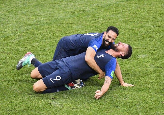 EdF : Benzema insiste sur Giroud et mêle Ronaldo à l'histoire