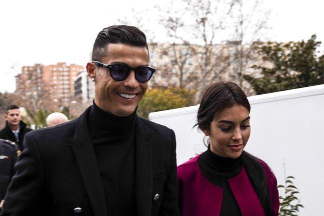 Ita : Cristiano Ronaldo et sa famille sont rentrés en Italie