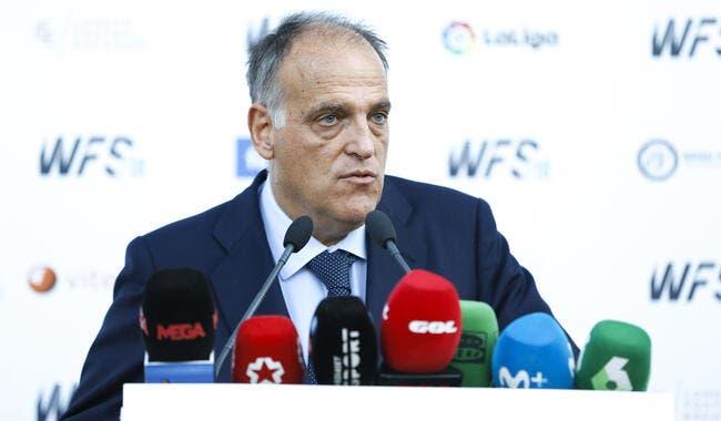 Esp : La reprise fait polémique, Javier Tebas fulmine !