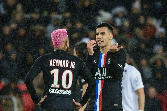 PSG : Se queda, Paredes chambre le Barça pour Neymar