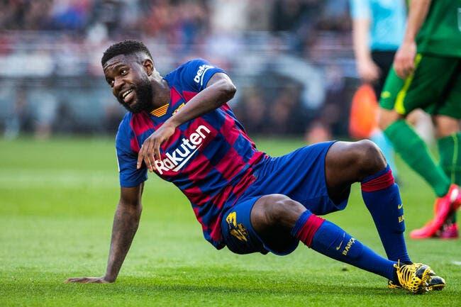 Samuel Umtiti victime d'une lésion musculaire — Barça