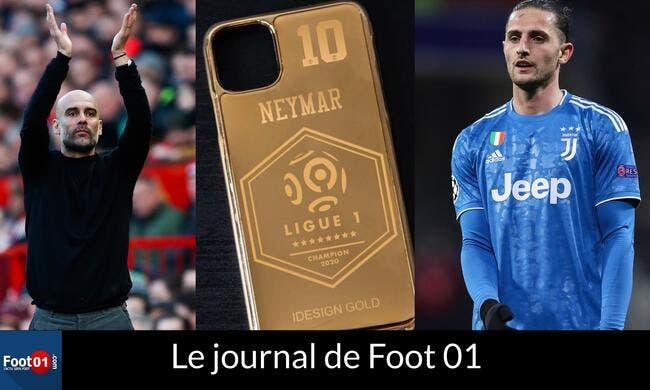 Journal du 13 mai : le PSG furieux,  GUARDIOLA vers le Barça et RABIOT out