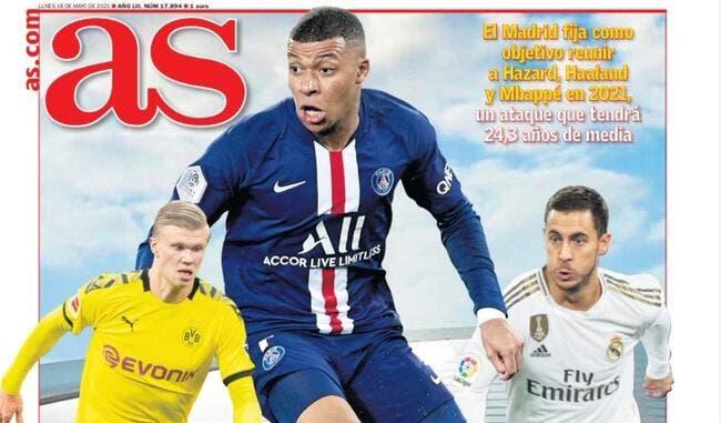 PSG : Mbappé et Haaland, le Real Madrid rêve plus grand
