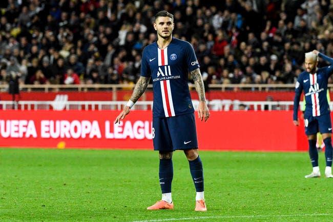 PSG: Paris abuse pour Icardi, l'Inter Milan le rappelle à l'ordre
