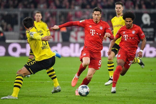 Dortmund - Bayern Munich : les compos (18h30 sur BeIN 1)